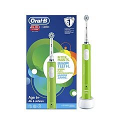 Oral-B Junior 6+ Elektrische Tandenborstel Groen 1 Stuk