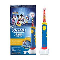 Oral-B Stages Power Mickey Brosse à Dents Electrique Enfants 3+ ans 1 Pièce