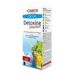 Ortis Detoxine Vitalité Bio Framboise Canneberge Fucus Flacon 250ml