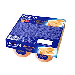 Delical Crème Dessert HP-HC La Floridine Abricot Pot 4x125g