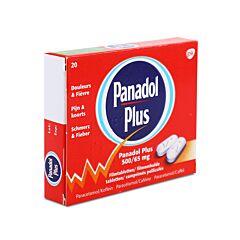 Panadol Plus 500mg/65mg Douleurs & Fièvre 20 Comprimés