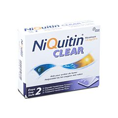 NiQuitin Clear 14mg 21 Pleisters