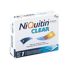 NiQuitin Clear 21mg 21 Pleisters