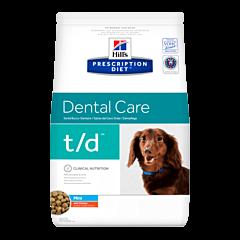 Hills Prescription Diet Canine Dental Care t/d Mini au Poulet 3kg