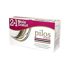 Pilos Forte Cheveux & Ongles Sains 6x30 Gélules PROMO 2+1 Mois GRATUIT