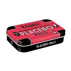 Placebo Pills Bonbons à la Menthe Boîte Métalisée 15g