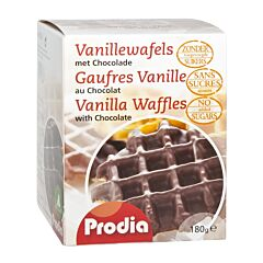 Prodia Wafel Vanille-Chocolade 185g
