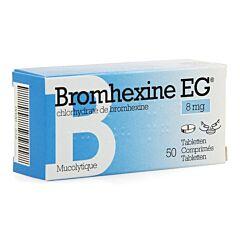 Bromhexine EG 8mg 50 Comprimés