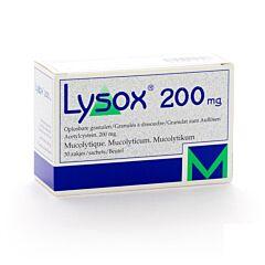Lysox 200mg 30 Sachets