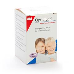 3M Opticlude Eye Patch 50 Stuks