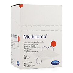 Hartmann Medicomp 4PL  5x5cm 50 Stuks