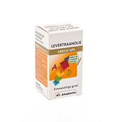 Arkocaps Levertraanolie 45 Capsules