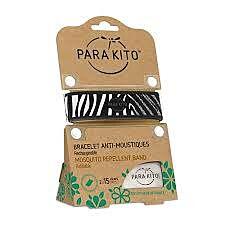 Parakito Graffic Zwart Zebra Armband + 2 Vullingen