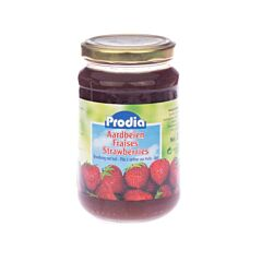 Prodia Jam Aardbeien + Fructose 370g