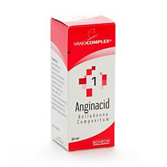 Vanocomplex 1 Anginacid Druppels 50ml