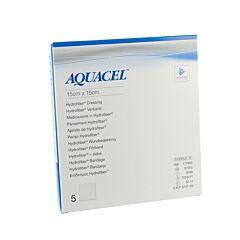 Aquacel Ag Pans Hydrofiber Ster 15x15cm 5 403710