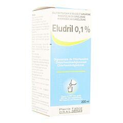 Eludril 0,1% Solution Bain de Bouche & Gargarisme Flacon 200ml