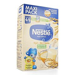 Nestle Baby Cereals Riz Vanille 500g