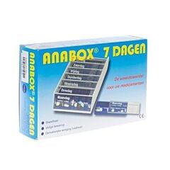 Anabox Pilulier Hebdomadaire 1 Pièce