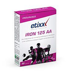 Etixx Endurance Iron 125 AA 30 Comprimés