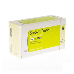 Steovit Forte Citron Calcium + Vitamine D3 1000mg/800Ui 84 Comprimés à Croquer