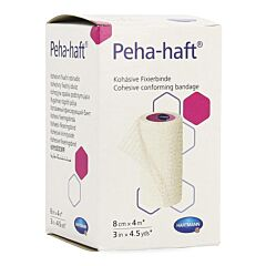 Hartmann Peha-Haft Sans Latex 8cmx4m 1 Pièce