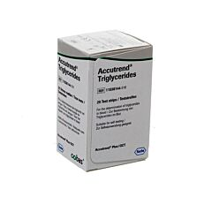 Accutrend Triglyceride Strips 25 11538144016