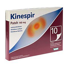 Kinespir Patch 140mg 10 Pleisters