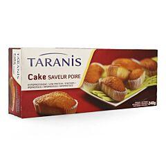 Taranis mini cake poire 240g (6 pieces) 4655