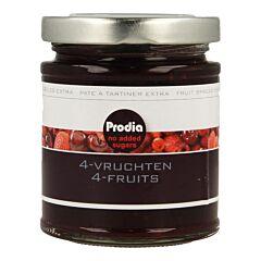 Prodia Broodbeleg 4 Vruchten + Maltitol 300g