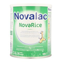 Novalac Novarice 0-36m Poudre 800g