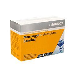 Macrogol + Elektrolyt Sandoz Citroen 20 Zakjes