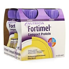 Fortimel Compact Protein Banane Bouteille 4x125ml