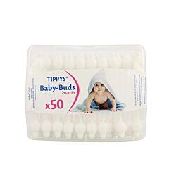 Tippys Baby Tips Wattenstaafjes 50 Stuks