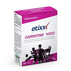 Etixx Endurance Carnitine 1000 30 Comprimés