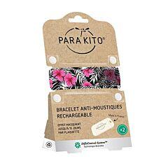 Parakito Anti-Muggen Armband Exotic + 2 Navullingen