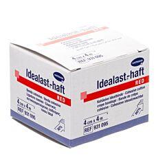 Hartmann Idealast-Haft Rouge Bande de Crêpe Cohésive 4cmx4m 1 Pièce