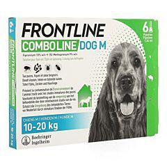 Frontline Combo Line Hond M 10-20kg Vlooien/Teken 6x1,34ml