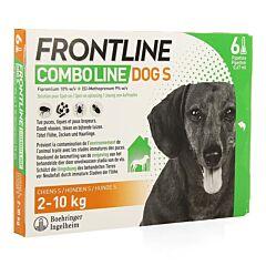 Frontline Combo Line Hond S 2-10kg Vlooien/Teken 6x0,67ml