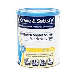 Crave & Satisfy Dieetproteinen Banana 200g