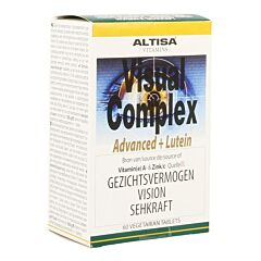 Altisa Visual Complex Advanced+luteine 60 Tabletten