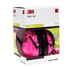 Peltor Hearing Protector Kid Neon Pink 1 Paar