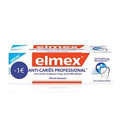 Elmex Anti-Cariës Professional Tandpasta Promo 75ml -1€