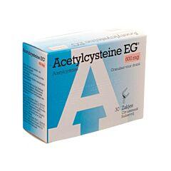 Acetylcysteine EG 600mg 30 Sachets