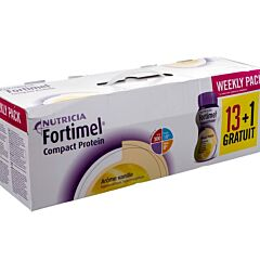 Fortimel Compact Protein Week Pack Vanille 14x125ml