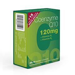 Coenzyme Q10 120mg 45 Tabletten +15 Tabletten Gratis