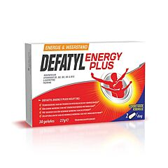 Defatyl Energy Plus 30 Gélules