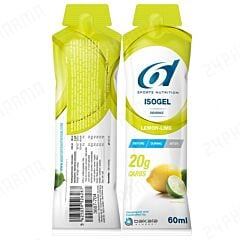 6D Sports Nutrition Isogel Citroen-Limoen 60ml 1 Stuk