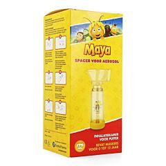 Eureka Pharma Maya lAbeille Chambre dInhalation pour Inhalateur 175ml + Masques 0-12 ans