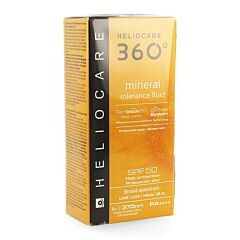 Heliocare 360° Mineral Tolerance Fluid SPF50 50ml